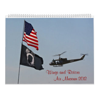 Wings and Rotors  Air Museum Wall Calendar