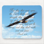 Wings as Eagles, Isaiah 40:31 Christian Bible Mouse Pads
