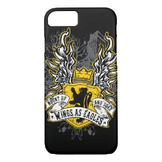 Wings As Eagles - Uban Black iPhone 7 Case