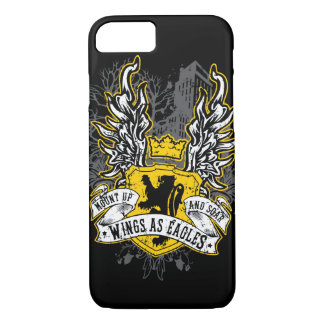 Wings As Eagles - Uban Black iPhone 8/7 Case