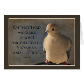 Wings of a Dove POSTER Card