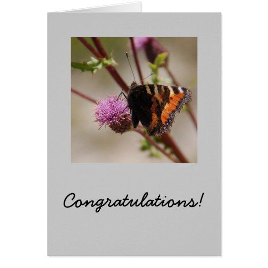 Wings of Congrats Card