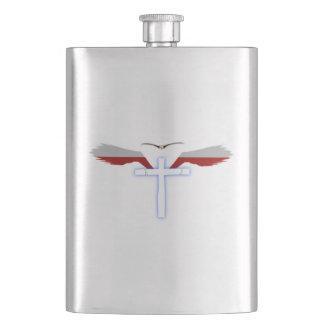 Wings of Holy Cross Flask