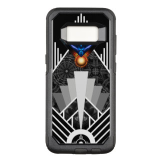 Wings Of Lightning Deco Mech Flare Otterbox S8 Cs OtterBox Commuter Samsung Galaxy S8 Case