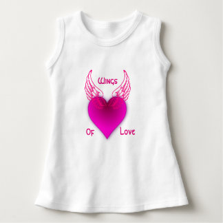 Wings Of Love Baby Sleeveless Dress