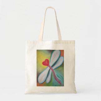 Wings of Love Dragonfly tote