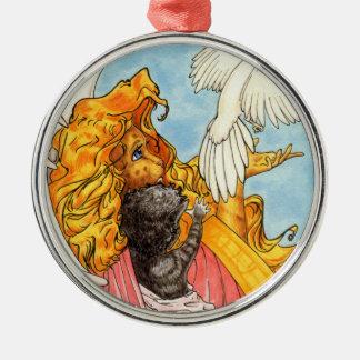Wings of Love Metal Ornament