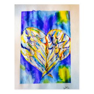Wings of Love Postcard