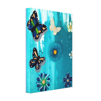 WINGS OF SPRING CANVAS PRINT