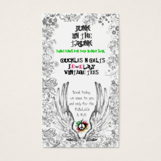 Wings & Peace Business Card