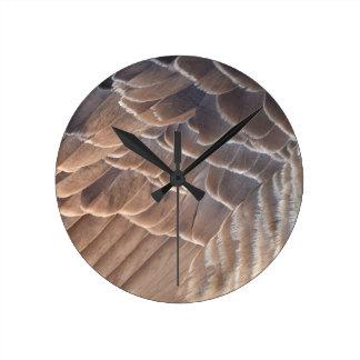 Wings Round Clock