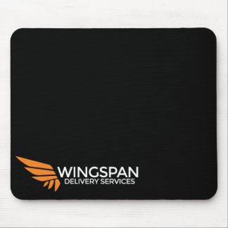 WINGSPAN Delivery Services logo mousepad