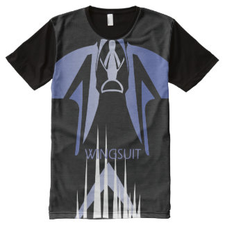 WINGSUIT WS_001 Ponto Central All-Over-Print T-Shirt