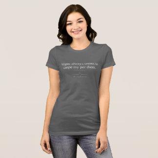 WingWords - Vegas Carpe Per Diem - Layover Life T-Shirt