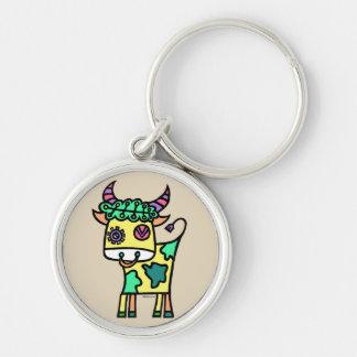 Wink Cow (YxG) Keychain