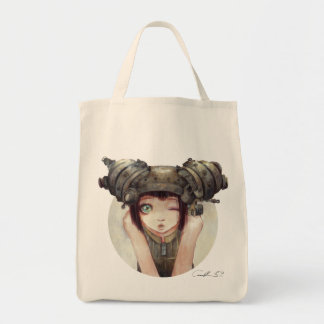 Wink Grocery Tote Tote Bags