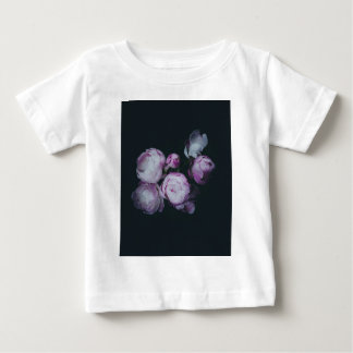 Wink Rose Buds dark background Baby T-Shirt