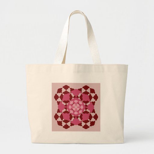 Wink sheep pattern mandala tote bag