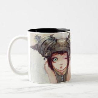 Wink Two Tone Mug