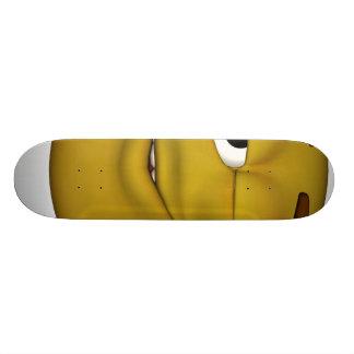 Winking-3d-black Skate Board Decks