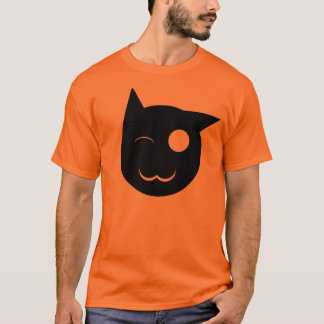 Winking Black Cat Shirt