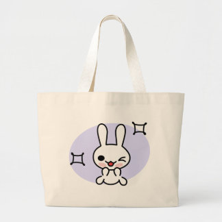 Winking Bunny Tote Tote Bag