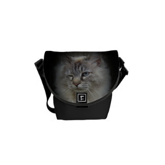 Winking Catrina Mini Bag Messenger Bag