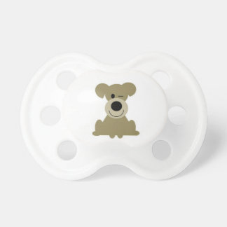 Winking Dog Pacifier