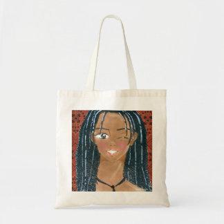 Winking Klip Tote Bag