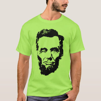 Winking Lincoln T-shirt