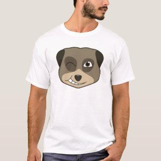 Winking meerkat design T-Shirt