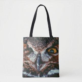 WINKING OWL TOTE BAG