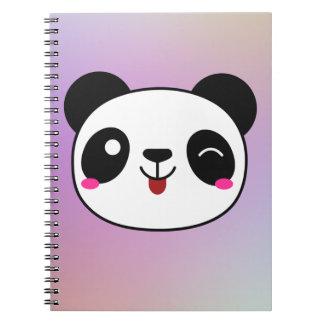 Winking panda journal