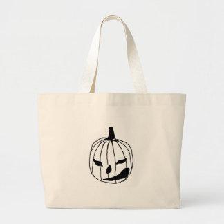 Winking Pumpkin Jumbo Tote Bag