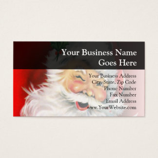 Winking Santa Business Card