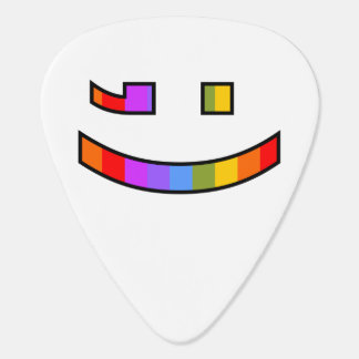 Winking & Smiling Face Pick