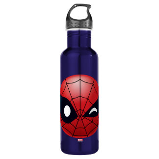 Winking Spider-Man Emoji 710 Ml Water Bottle
