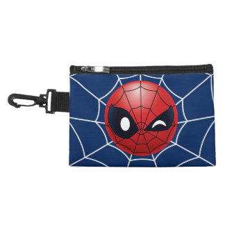 Winking Spider-Man Emoji Accessory Bag