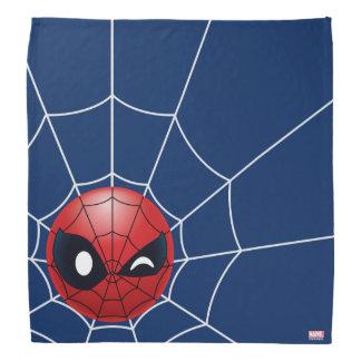 Winking Spider-Man Emoji Bandana