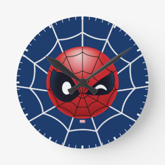 Winking Spider-Man Emoji Clocks