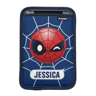 Winking Spider-Man Emoji iPad Mini Sleeve