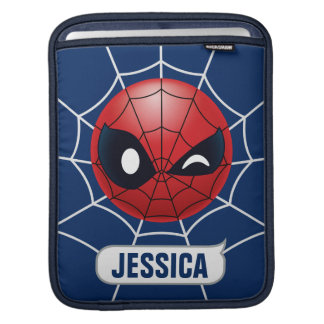 Winking Spider-Man Emoji iPad Sleeve