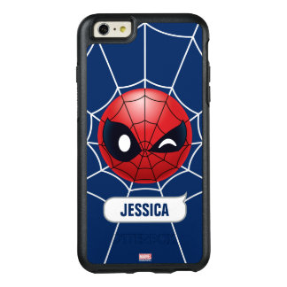 Winking Spider-Man Emoji OtterBox iPhone 6/6s Plus Case