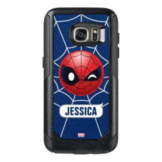 Winking Spider-Man Emoji OtterBox Samsung Galaxy S7 Case
