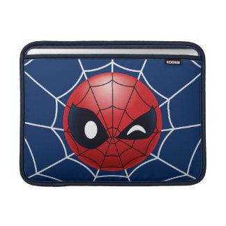 Winking Spider-Man Emoji Sleeve For MacBook Air