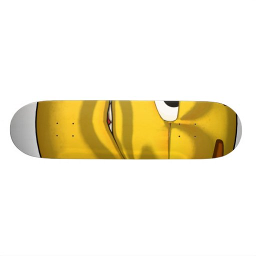 Winking-toon-black Skateboard