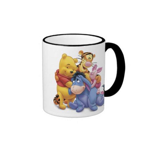 Winne the Pooh and Friends Disney Coffee Mugs