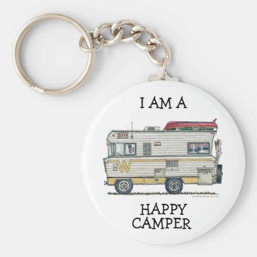 Winnebago Camper RV Apparel Keychains