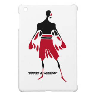 winner epitomizes the spirit of victory iPad mini cases