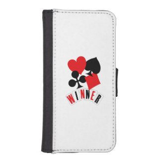 Winner iPhone SE/5/5s Wallet Case